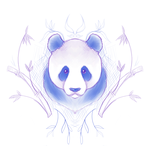 Crest Sketch 39: Panda by andarix