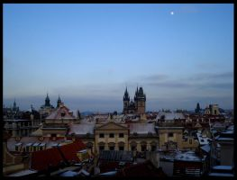 Winter in Prague City by lilithdesade