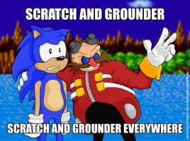 Scratch And Grounder Everywhere by deadcal