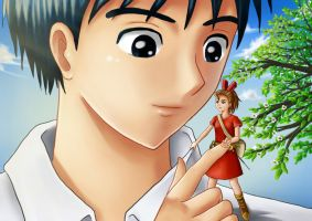 Karigurashi no Arrietty by jeffri-h