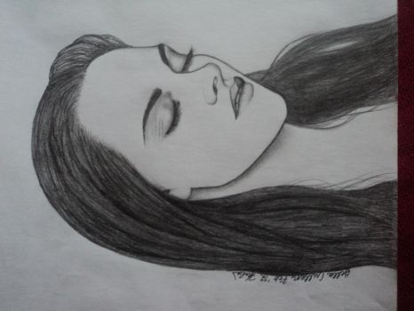Bella Cullen as a vampire :D by Freezingforheat