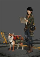 Post Apocalyptic Japanese Girl by GloriousRyan