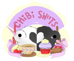 Commission - Chibi Sweets by NamiOki