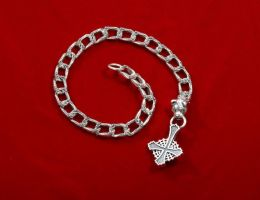 Rose curb wallet chain. by GerlachStyle