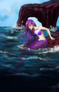 The Mermaid by thefireoflife