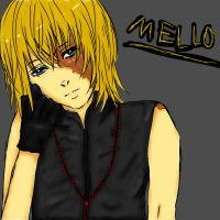 Mello - Colored by SilentAddiction23