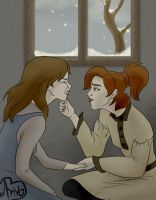 Don't leave me lonely - Anya and Masha by anya1916
