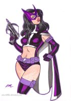 Huntress Sketch by em-scribbles