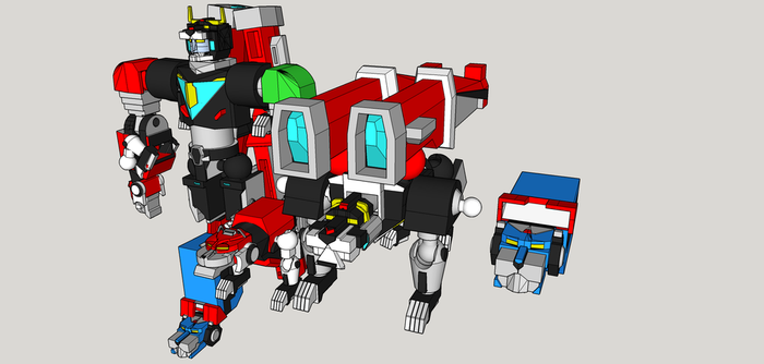 Voltron wip 8 by Lilscotty