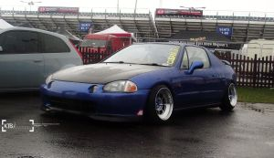 CRX Del Sol - Fast Show 2013 by K4T3Photography
