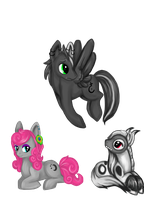 Anyone notice we are ponies...? by Sekhmettt