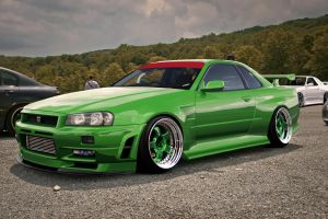 Nissan Skyline by NUEVE11