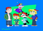 The Backward Red Hat Buds by TXToonGuy1037
