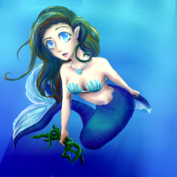 Mermaid by summermon