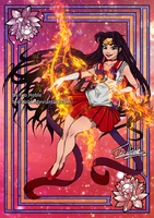 Sailor Mars by Teo-Hoble