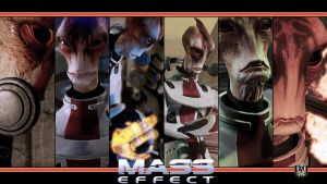 Mass Effect Wallpaper - Mordin Solus by Ainyan42