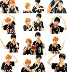 [Haikyuu cosplay] - I heart you by vani27
