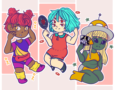 Monster Girls for a Monster World by TinyTimelord