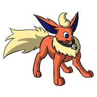 Flareon Commission by Brookreed