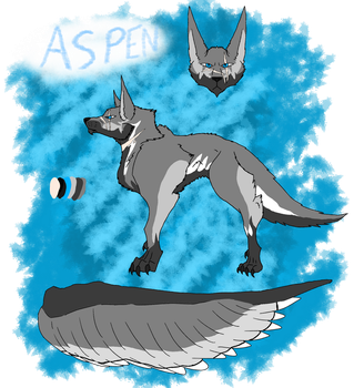 Aspen's reference sheet by CorrosiveChaoticWolf