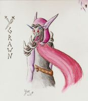 Ygrawn in Watercolour - pencil by Yamicat