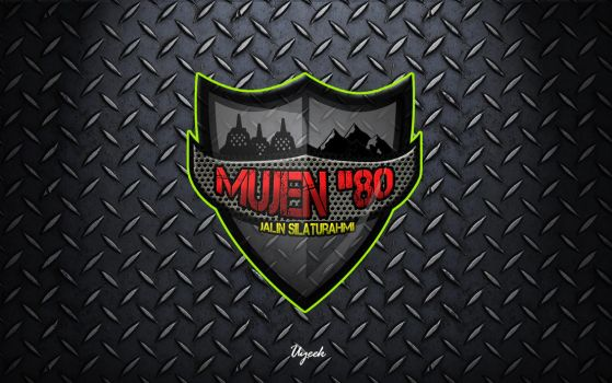 MUJEN 80 logo by uyeek
