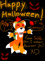 HappyHalloweenFromT.D.--Err... by DarkCream