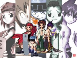 Shaman King Bunch- by haruningster