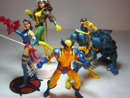 my xmen action figures by hugohugo