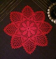 Small Christmas Tablecloth by ToveAnita