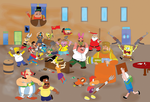 Cartoon Characters Brawl! by Ch42K