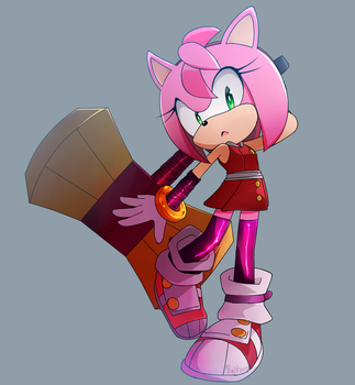 Amy -Sonic Boom- by Baitong9194