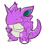 Nidoking by Leliea