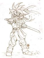 Chrono Trigger sketch by Mundokk