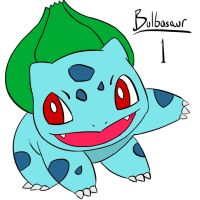 1 Bulbasaur color by Zeke-01