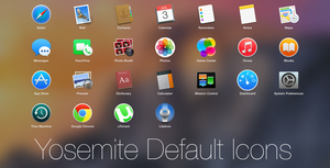 Yosemite Default Icons by MrGoodGriefing