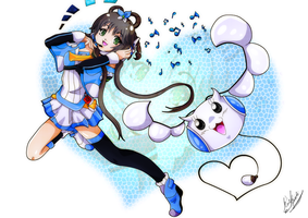 Commission: Luo Tianyi by Andzia-chan
