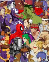 Marvel Vs. Capcom by ktownjeff