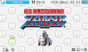 3D Classics:  Xevious by UKD-DAWG