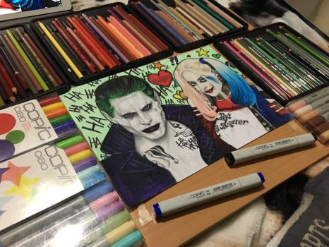 Joker And Harley Suicide Squad by ally6sixx
