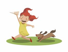 running dog by Alexisvivallo