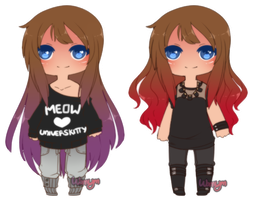 Raeyl Outfit Refs by WanNyan