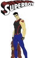 Superboy New 52 design colored by nhrynchuk