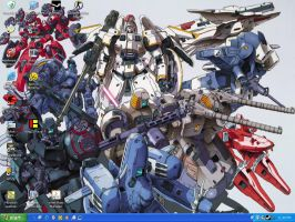 OZ Mobile Suits by DarkWizard83