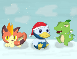 MERRY CHRISTMAS 2012 by Snivy101