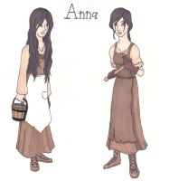 Anna (Hills of Evendim) by 2sisters34