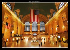 Grand Central New York by squarepush