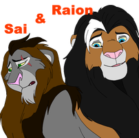 Sai and Raion, 2 brothers. *breedable* by horse-power