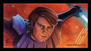 Anakin - Clone Wars by roberthendrickson