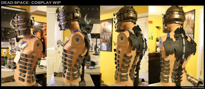 DEAD SPACE - Isaac Clarke Cosplay WIP by SKSProps